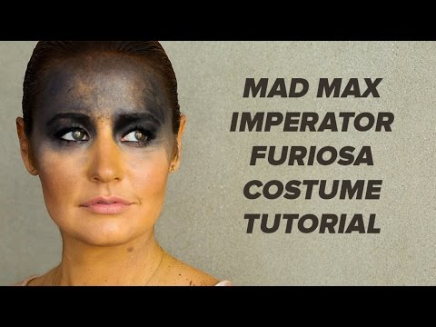 Mad Max Imperator Furiosa Costume and Makeup Tutorial | Style Survival