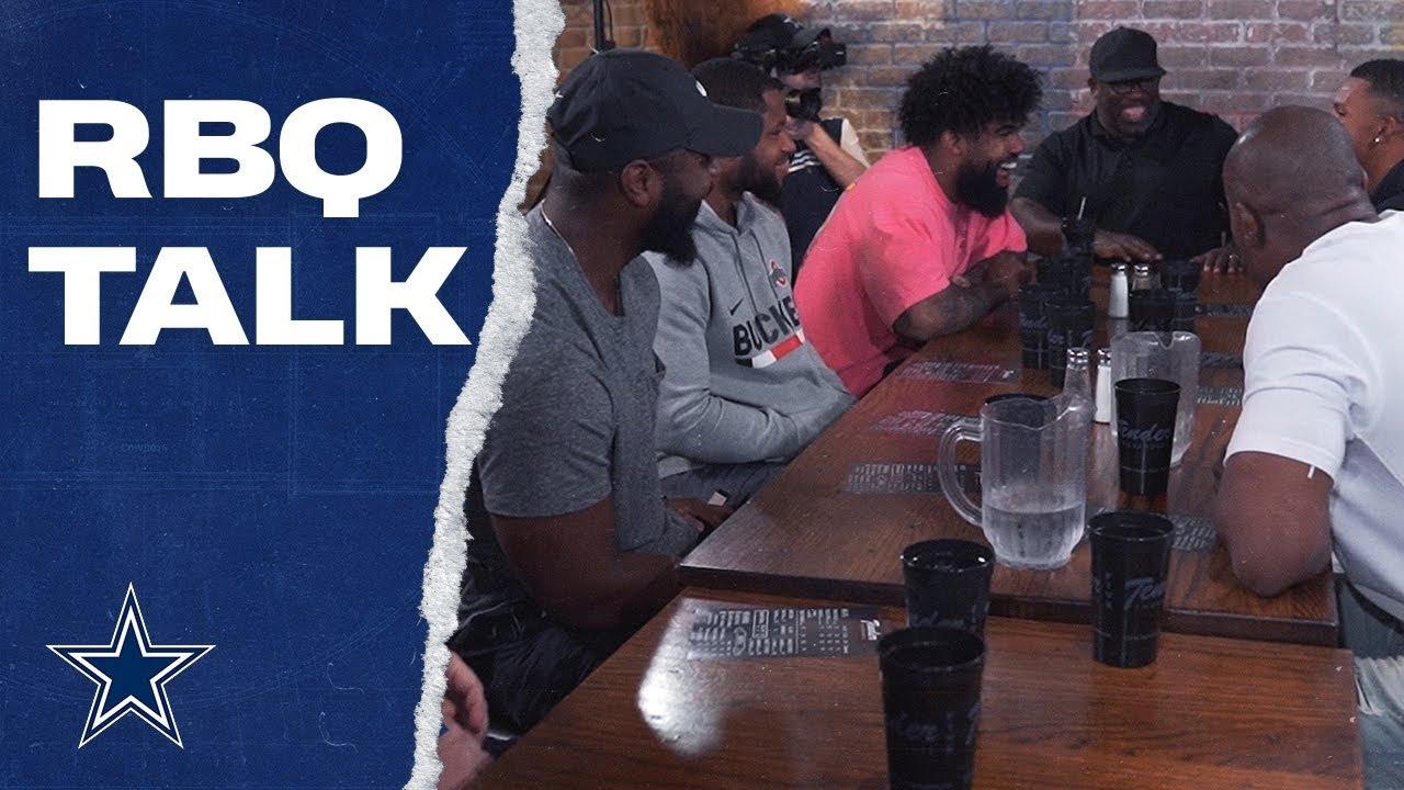 Running Backs Gather For Cowboys Style RBQ | Dallas Cowboys 2019