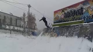 Ерши. Open Snow at 09.11.16(Опять открыли сезон осенью, разогревшись предварительно на Батутах в