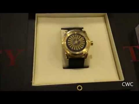Zinvo Blade Plated 18k gold limited number 100pcs-Cambodia Watches Collector