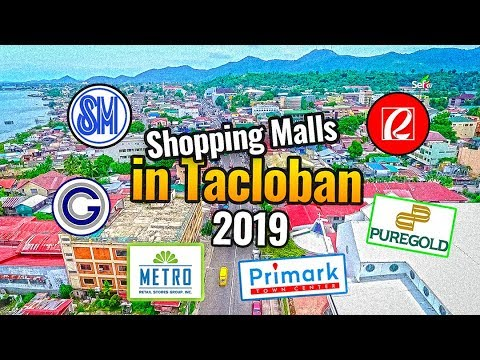 New Shopping Malls in Tacloban City