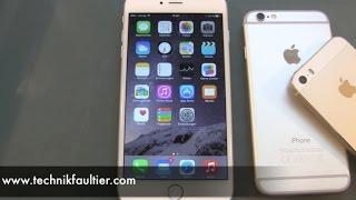 iPhone 6 Plus eİnrichten und erster Eindruck