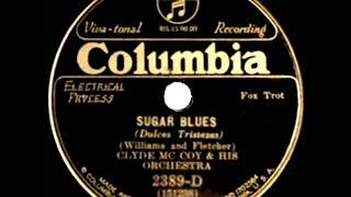 Download 1931 HITS ARCHIVE: Sugar Blues - Clyde McCoy (Columbia version)