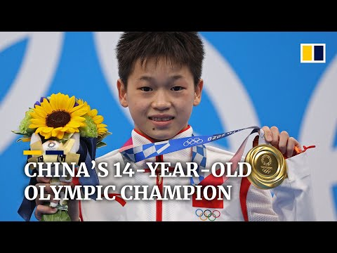 14-year-old Chinese diver's Olympic gold a story of her rise above poverty to perfect score