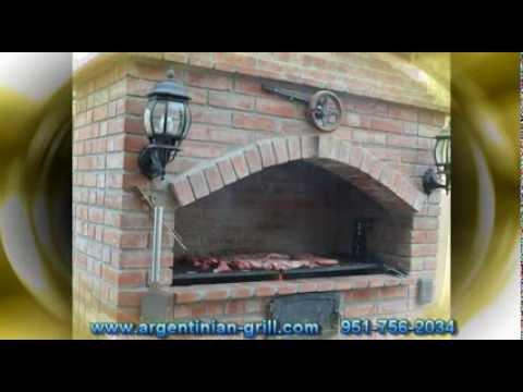 Parrilla argentina de ladrillo youtube - Planos de chimeneas de ladrillo ...