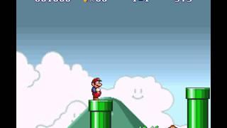 Super Mario All-Stars - Super Mario All-Stars Super Mario Bros world 1-1 (SNES) - User video