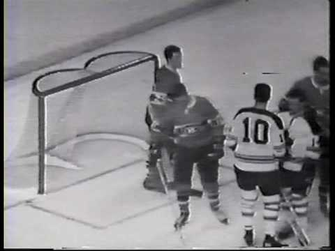 1967 Stanley Cup Final Game 5 Toronto Maple Leafs 4 @ Montreal Canadiens 1