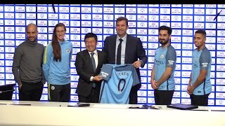 Manchester City Announce Sponsorship Deal With Nexen Tire