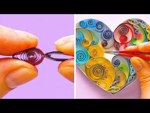 22 QUILLING CRAFT IDEAS