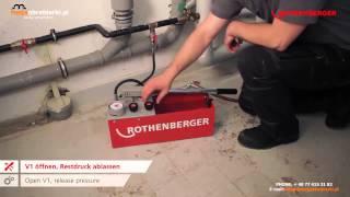 Pompa pomiarowa kontrolna RP50 S ROTHENBERGER