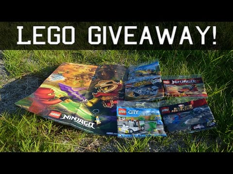 Lego Giveaway 5K Subscribers & 6M Views