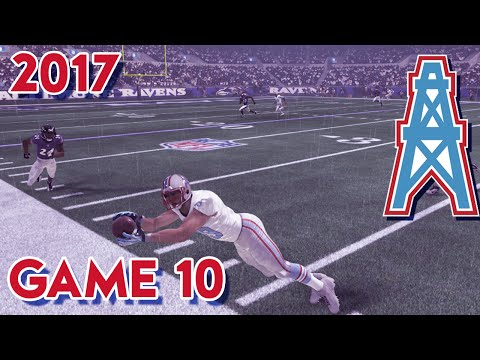 Madden 15 Franchise Mode - Houston Oilers | Season 4, Game 10 @ Ravens
