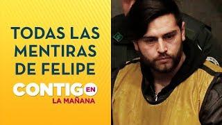 Las mentiras de Felipe Rojas en Caso Fernanda Maciel - Contigo en La Mañana
