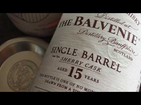 Whisky Review #310 The Balvenie Sherry Cask 15 Year & Christmas Cards