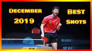 Best Table Tennis Shots December 2019 [HD]