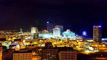Atlantic City Casinos, Hotels and Beaches, Boardwalk in Atlantic City, New Jersey