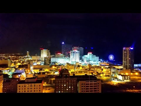 Atlantic City Casinos, Hotels and Beaches, Boardwalk in Atlantic City, New Jersey