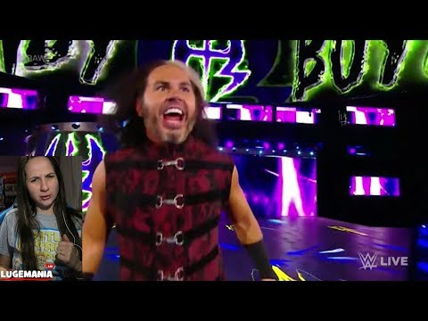 WWE Raw 1/8/18 NEW Matt Hardy Woken...