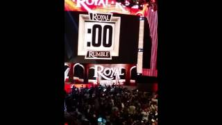 Brock Lesnar Entrance at the Royal Rumble