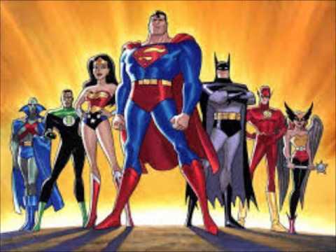 justice league theme 2001-2003