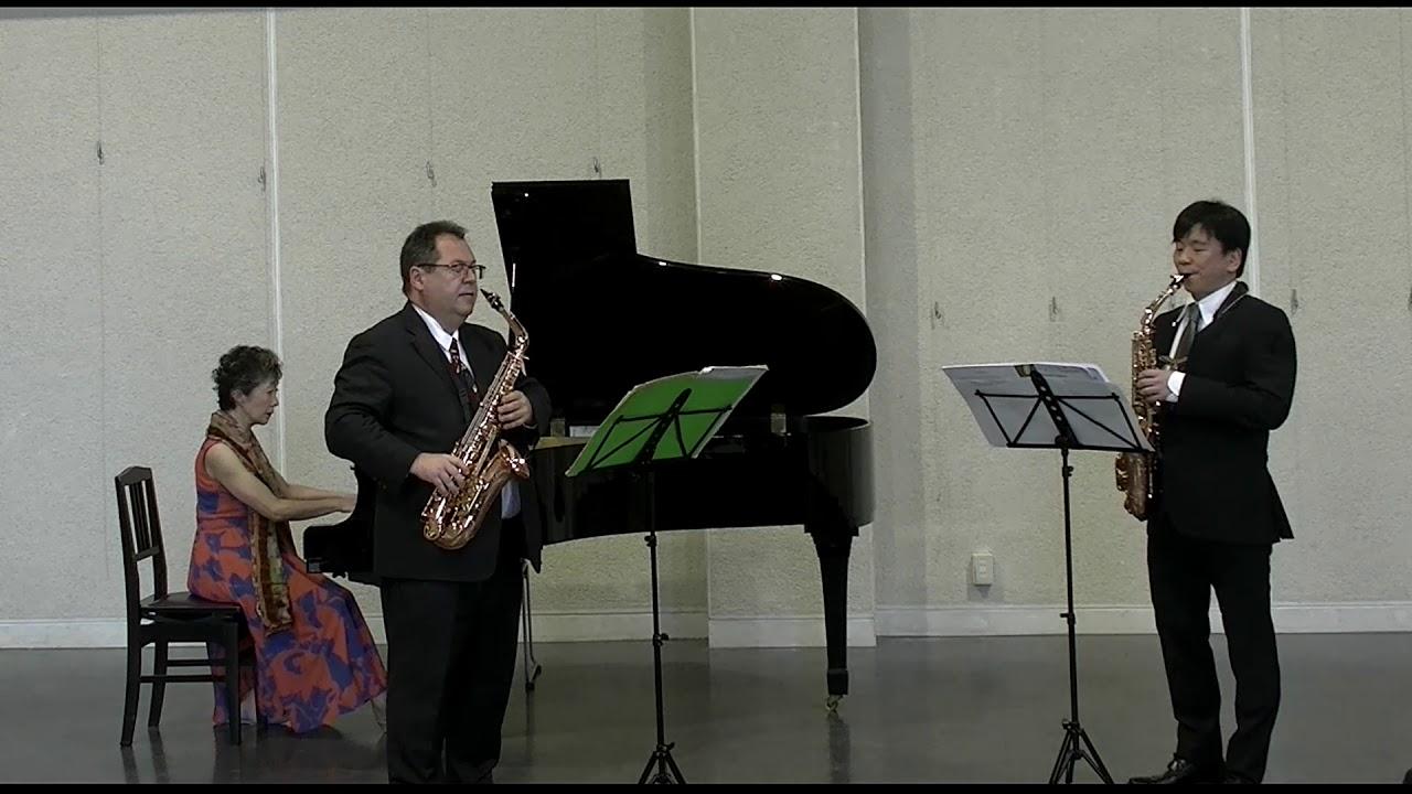 """Sonatina """"Parsax"""" Ⅱ.Andante et Rubato"""