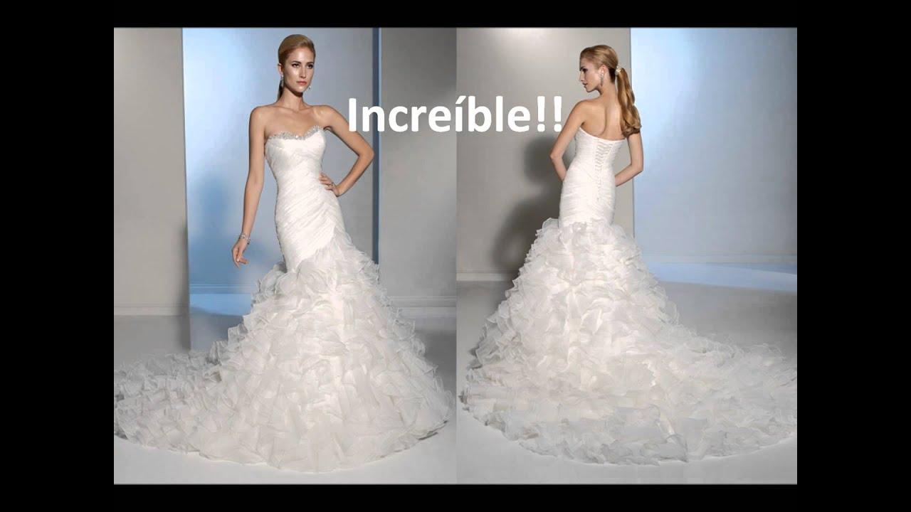 de vestidos de novia economicos