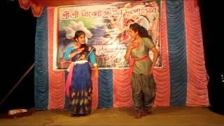 Je Pakhi Ghor Bojhena - Dance on Durgapuja 2017 at Soaluk Goswamipara