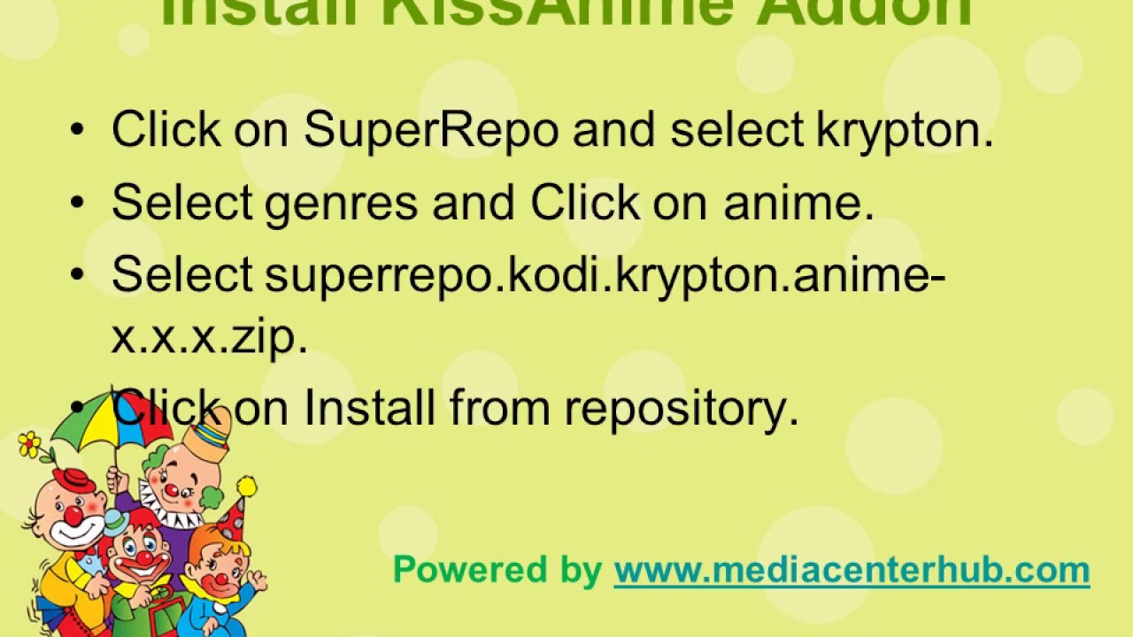 How To Install KissAnime Kodi Addon - Best Streaming Tips