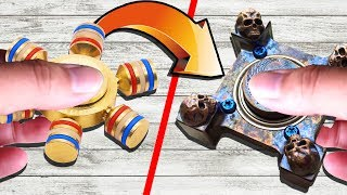WORLD'S CHEAPEST FIDGET SPINNER Vs MOST EXPENSIVE FIDGET SPINNER! (You Won't Believe This!)