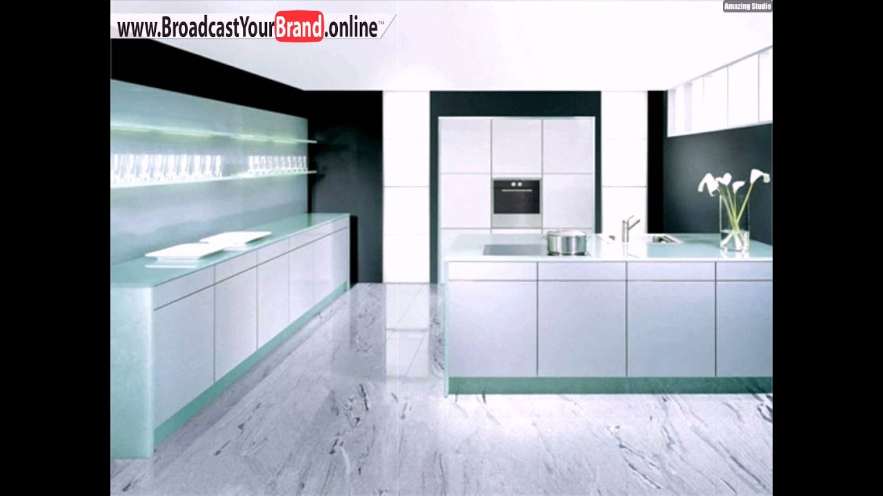 wei e marmor fliesen moderne k che youtube. Black Bedroom Furniture Sets. Home Design Ideas