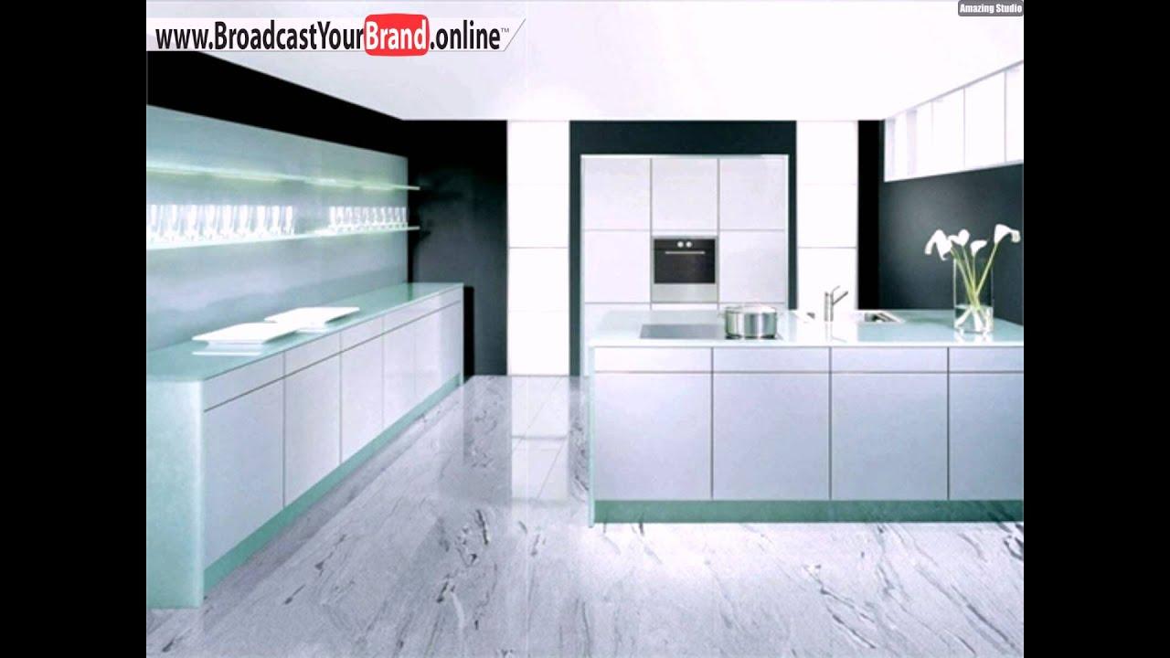 Weiße Marmor Fliesen Moderne Küche · Kuchenwand Fliesen Wei Anthrazit  Wohndesign