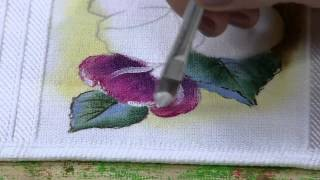 Pintura Tecido Amor Perfeito por Karla Iredes