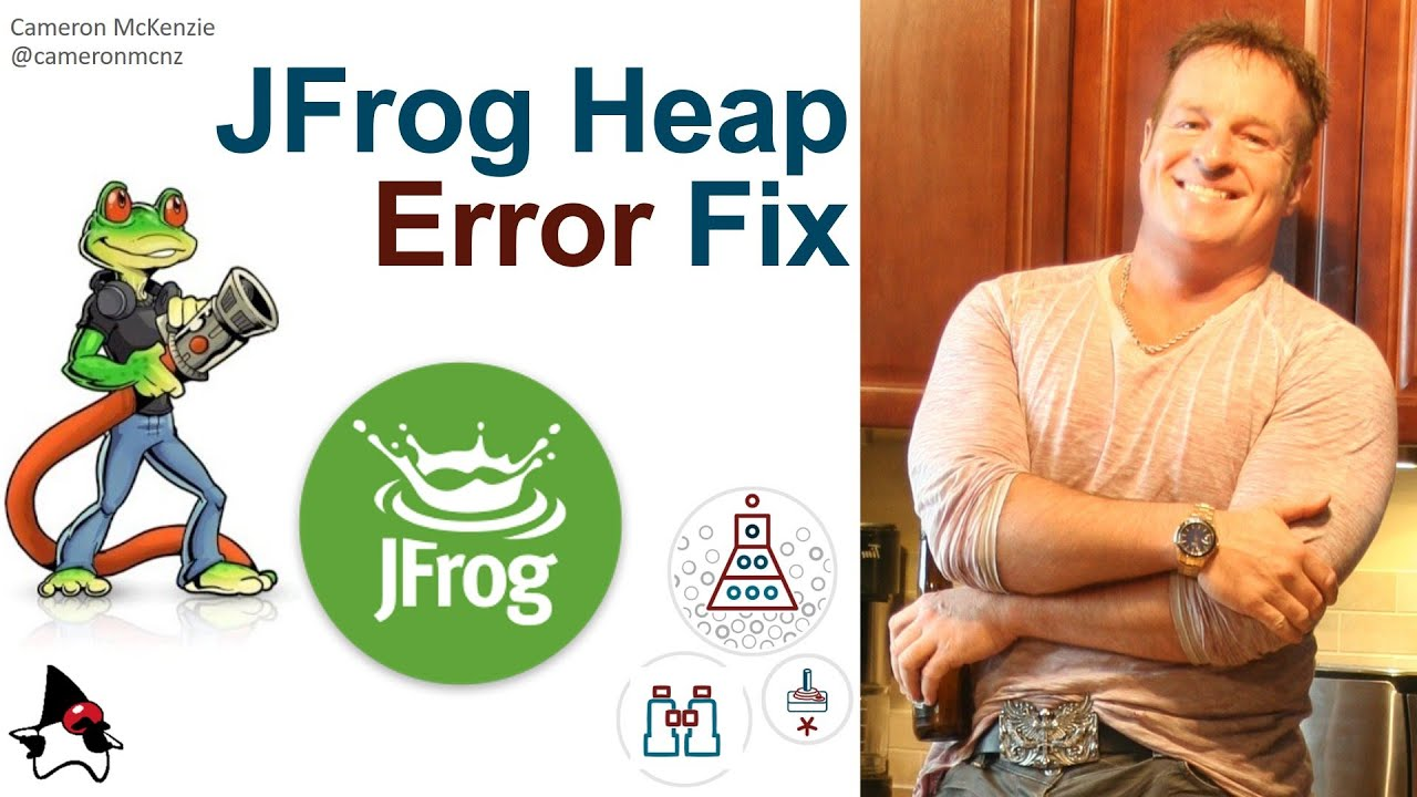 Fix 'could not reserve enough space for 2097152KB object heap' JFrog