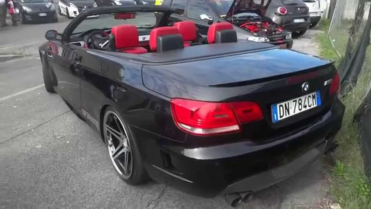 Bmw M3 Cabrio Convertible Tuning Car Show Video