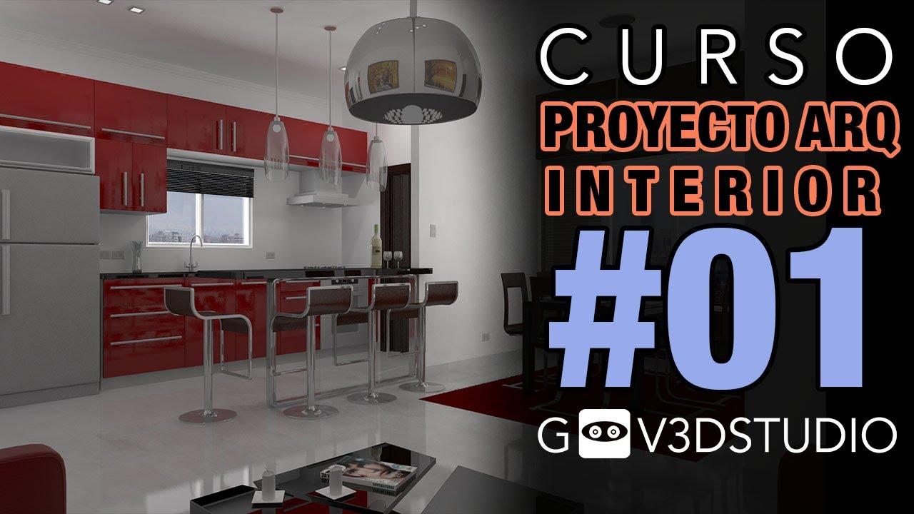 3ds max proyecto arquitectura interior 01 depurar for Arquitectura interior