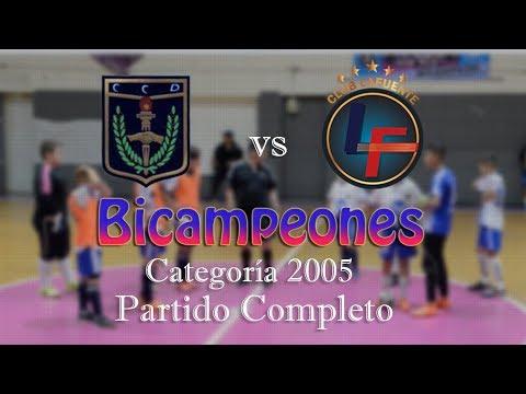 Bicampeones - Partido Completo - 17 de Agosto 6 - 8 Lafuente - (Baby Fútbol)