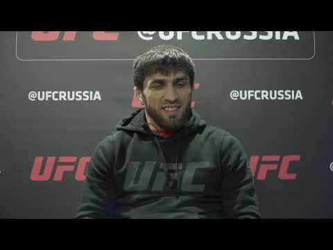 """UFC Санкт-Петербург. Магомед Мустафаев: """"Рад вернуться в дело."""""""