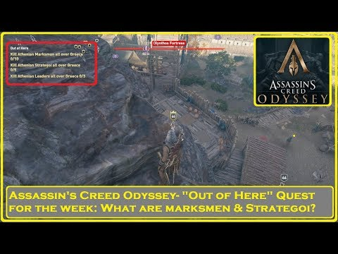 "Assassin's Creed® Odyssey- ""Out of Here"" Weekly: What are Markmen and Strategoi? thumbnail"