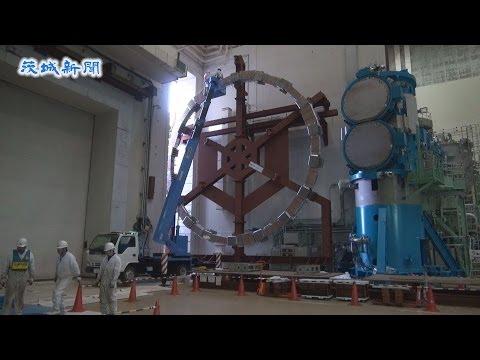 世界最大級の超伝導コイル搬入 核融合研のJT-60SA