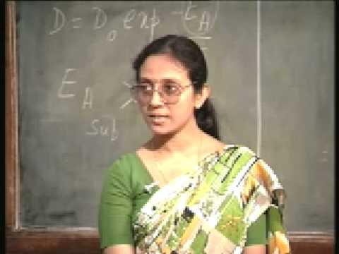 Lecture - 15 Diffusion I - Theory of Diffusion