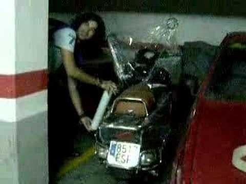 Nuevo antirrobo moto youtube - Antirrobo moto garaje ...