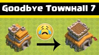 Clash Of Clans | Goodbye TownHall 7 | Welcome Townhall 8