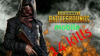 14 kills!!! Solo match (Pubg mobile)