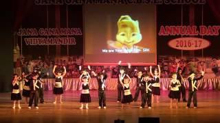 jgm school preranotsav 2016 17 jr b zabra fan