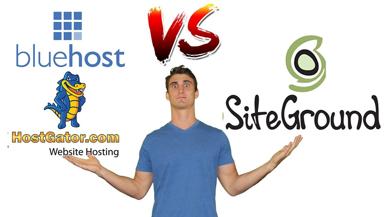 Siteground vs. Bluehost vs. Hostgator, which one is the best option for 2021?