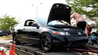 Full Race Civic Si Dyno - Springfest 2011