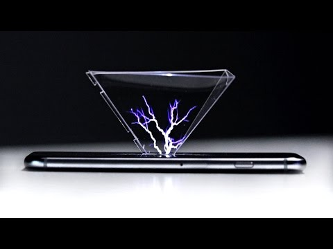 Amazing 3D Hologram Using Any Smartphone!