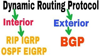 Types of Dynamic Routing Protocols in Hindi   Routing Concepts & Protocols Part-7  