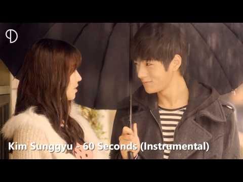 Kim Sunggyu - 60 Seconds (Instrumental)