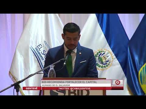 BID recomienda fortalecer el capital humano de El Salvador